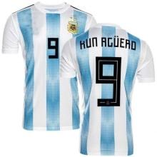 Футболка сборной Аргентины на ЧМ 2018 Серхио Агуэро