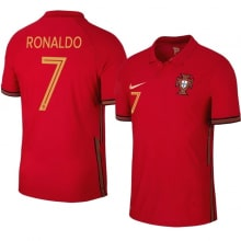 Домашняя футболка Португалии на ЕВРО 20-21 Роналду