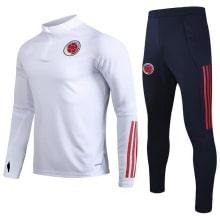 Черно белый костюм сборной Колумбии по футболу 2020-2021