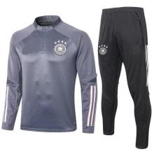 Черно серый костюм сборной Германии по футболу 2020-2021