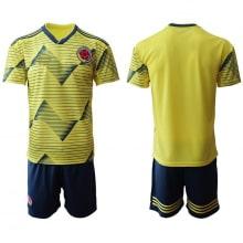Детская домашняя футбольная форма Колумбии 2019-2020