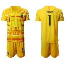 Детская желтая форма Франции LLORIS на ЕВРО 20-21