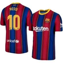 Домашняя футболка Барселоны 2020-2021 Лионель Месси