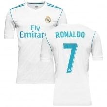 Детская домашняя футбольная форма Реал Мадрид 2017-2018 Криштиану Роналду