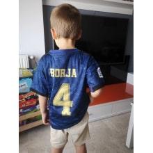 Детская гостевая форма Реал Мадрид 19-20 со своей фамилией и номером
