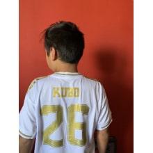 Детский комплект домашней формы Реал Мадрид 2019-2020 со своей фамилией и номером