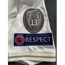 Домашняя игровая футболка Реал Мадрид 2019-2020 патчи на рукаве