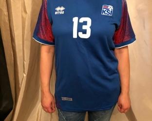 Домашняя игровая футболка сборной Исландии по футболу на чемпионат мира 2018 года