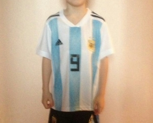 Детская форма сборной Аргентины на Чемпионат Мира 2018 в России