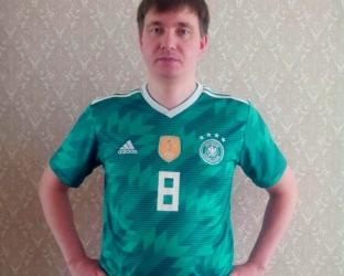 Футболка сборной Германии на Чемпионат мира 2018