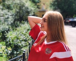 Футболка сборной России на чемпионат Мира 2018 года