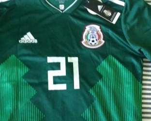 Футболка сборной Мексики по футболу на Чемпионат Мира 2018