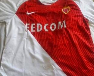 Домашняя игровая футболка Монако 2018-2019 сезона
