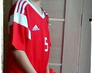 Детская футбольная форма сборной России по футболу 2018 года