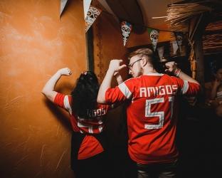 Футболка сборной России на ЧМ 2018 с нанесением для сотрудников