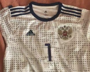 Гостевая футболка сборной России Чемпионат Мира 2018