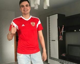 Футболка сборной России на Чемпионат Мира 2018
