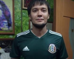 Домашняя игровая футболка сборной Мексики по футболу на чемпионат мира 2018 года