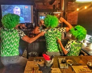 Футбольная форма Нигерии на Чемпионат Мира 2018