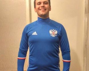 Футбольный костюм сбороной России по футболу 2017 года