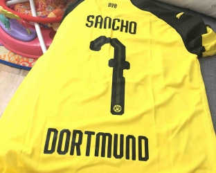 Домашняя игровая футболка Боруссия Дортмунд 2018-2019 сезона