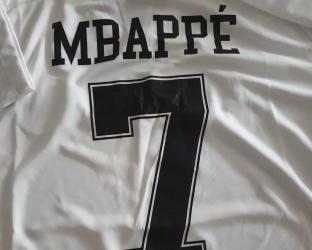 Игровая футболка JORDAN ПСЖ 2018-2019 сезона MBAPPE номер 7
