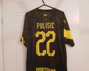 Гостевая игровая футболка Боруссия Дортмунд 2018-2019 сезона