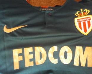 Гостевая игровая футболка Монако 2018-2019 сезона