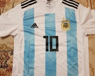 Домашняя футболка Аргентины ЧМ 2018